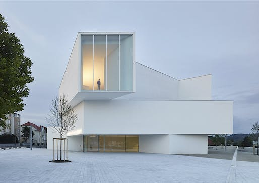 Théodore Gouvy Theatre in Freyming-Merlebach, France; designed by Dominique Coulon et associés. Photo by Eugeni Pons.