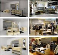 Calvin Klein shops in shops - Chile