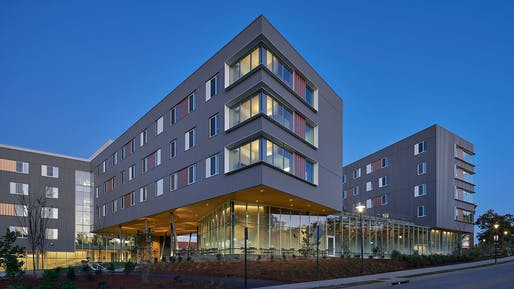 Adohi Hall, University of Arkansas. Photo: Timothy Hursley.