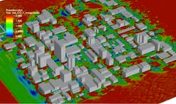 Supercomputing project simulates architecture's influence on urban microclimates