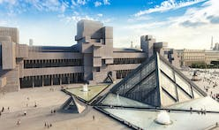 What would The Louvre look like if it was Brutalist?