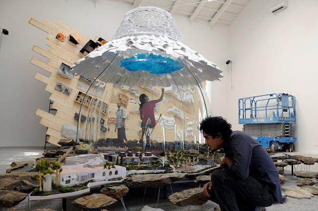 IT'S ALL ABOUT PARTICLES: ELBULLIFOUNDATION by Cloud9 (Enric Ruiz-Geli) © Débora Mesa