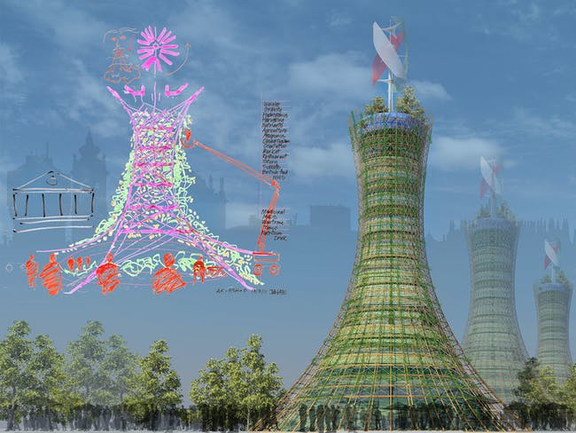Future Projects - Experimental: Skyfarm, Italy, by Rogers Stirk Harbour + Partners and Arup Associates