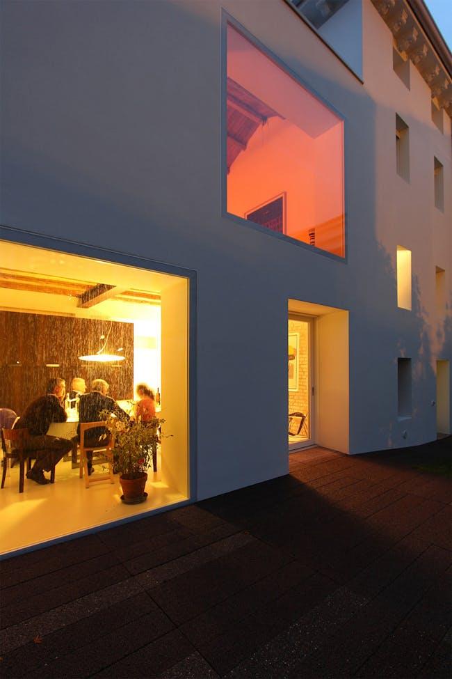 Casa BRSL in Sacile, Italy by corde architetti associati; Photo: archivio corde architetti
