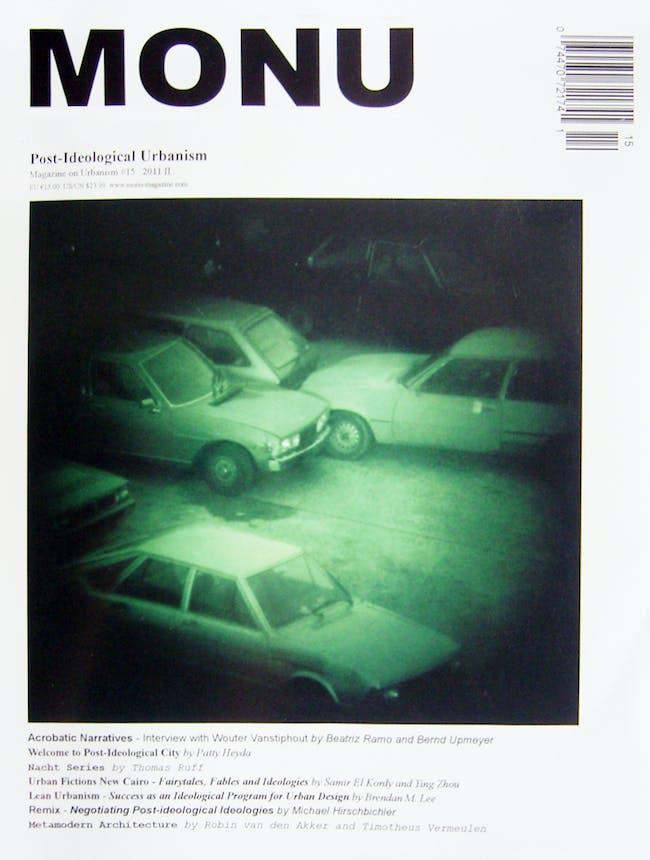 Cover Monu No. 15 2011 'Post-Ideological Urbanism' © MONU