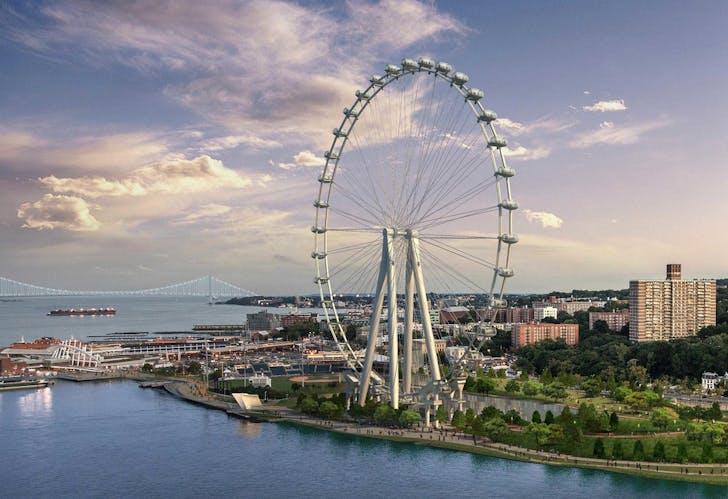 The New York Wheel. Image via S9 Architects