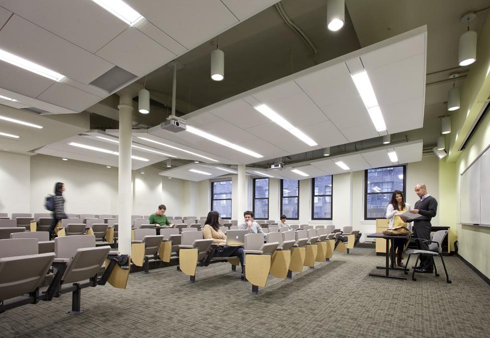 New York University Classrooms Matiz Architecture and Design