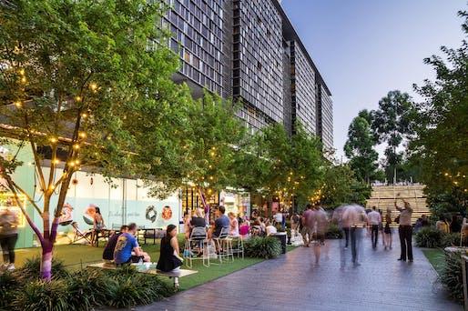 Urban Habitat - District/Master Plan Scale: Central Park, Sydney, Australia. Photo © Dig It Photography.