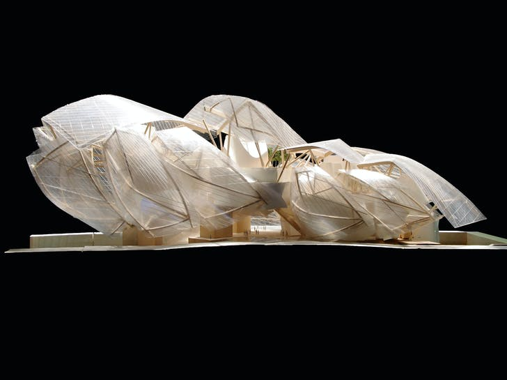 Model for Fondation Louis Vuitton. Image courtesy of LACMA.
