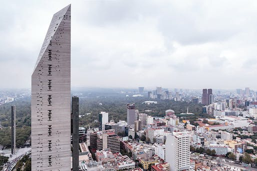 Torre Reforma​ in Mexico City by LBR Arquitectos. Photo © Alfonso Merchand.