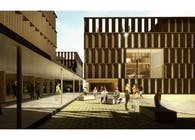 Students Residence on the new U.L.E. Campus Competition. HONORABLE MENTION