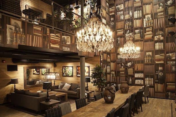 Wallapaper Concept And Design In Over 100 Espresso House