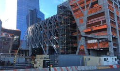 """Construction for Diller Scofidio + Renfro and Rockwell Group's """"The Shed"""" pushes forward"""