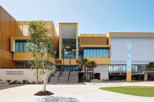 Gold Coast Sports Precinct (Carrara) by BVN. Photo: Christopher Frederick Jones.