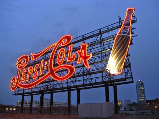 This historic 1936 Pepsi-Cola sign in NYC went from a mere transporter of information to becoming an essential part of the urban fabric. It recently received landmark status.