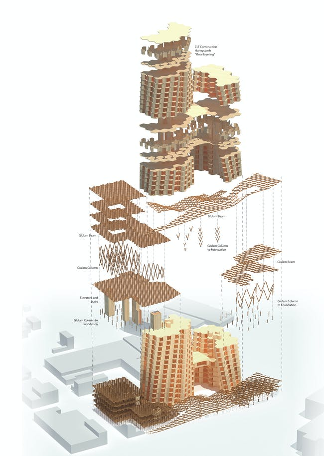 Exploded structure diagram. Image courtesy of Workshop XZ.
