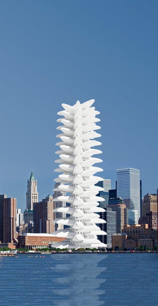 PHYLLOTACTIC TOWER(s) by Saleh Masoumi Verki.