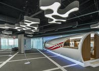 Dassault Falcon Corporation North American Headquarters-Showroom