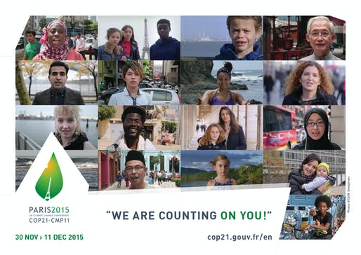 Next month, the leaders of the world's countries will gather in Paris to try to enact real policies to mitigate climate change. Credit: Cop21