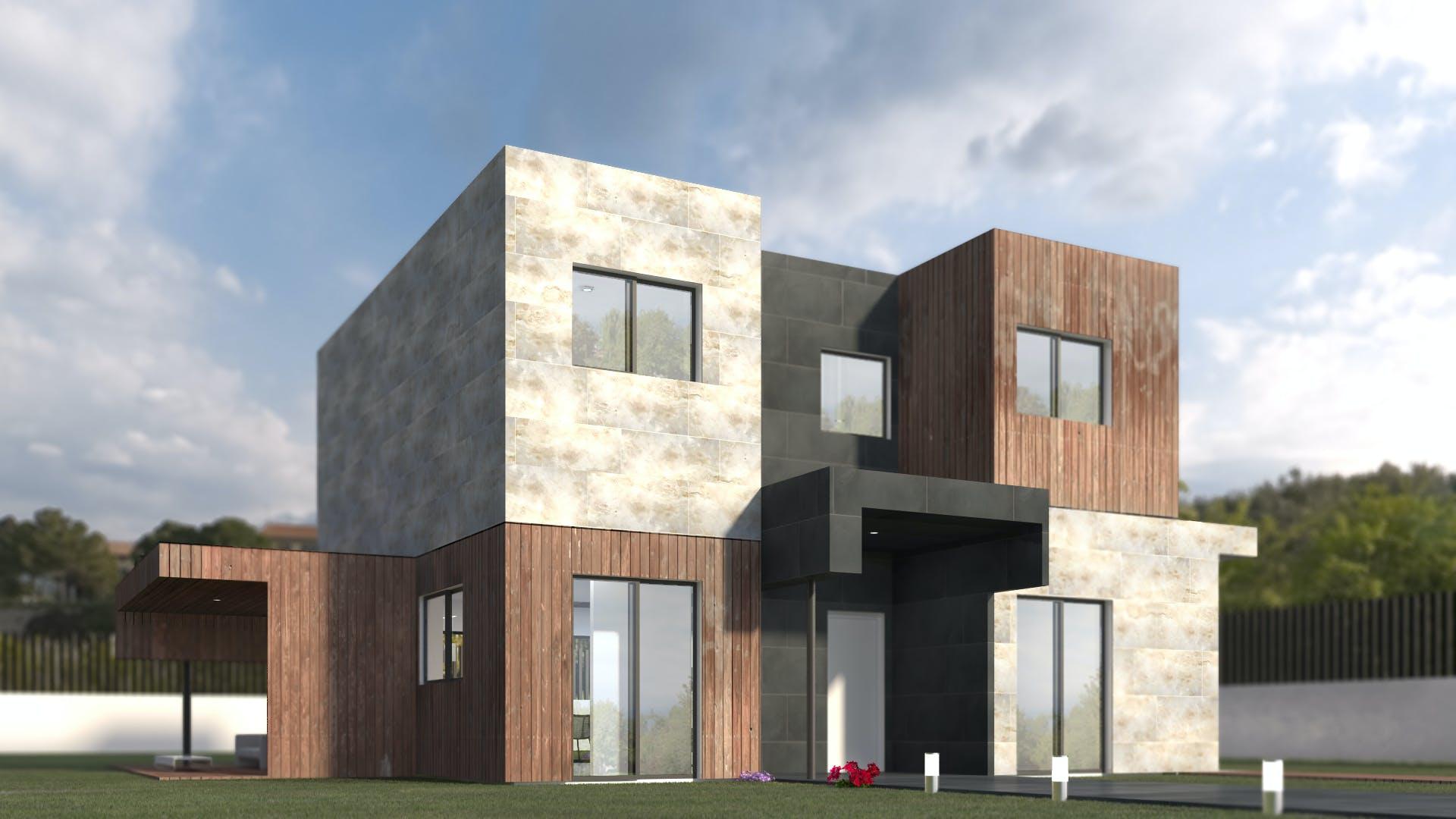 Casas prefabricadas en espa a modelo 4b miguel martinez archinect - Casas prefabricadas espana ...