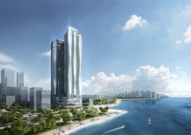 Alacarte Halong Bay Condotel Development, Vietnam, by Aedas