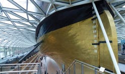 Cutty Sark wins award as worst new building in Britain