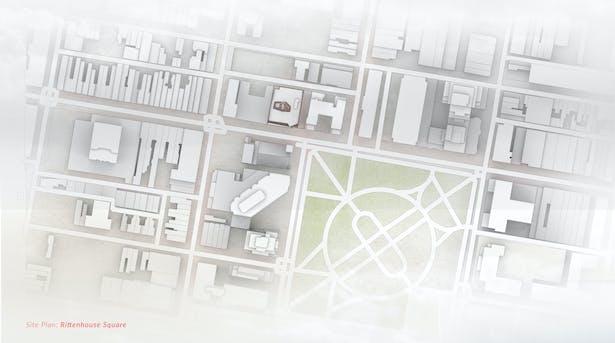 Site Plan: Rittenhouse Square