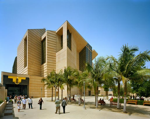 Cathedral of Our Lady of Angels, 2002 Los Angeles. Courtesy of Rafael Moneo Architects, photo © Michael Moran