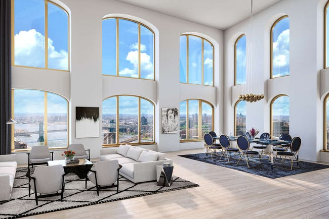 Renderings courtesy of the Lightstone Group