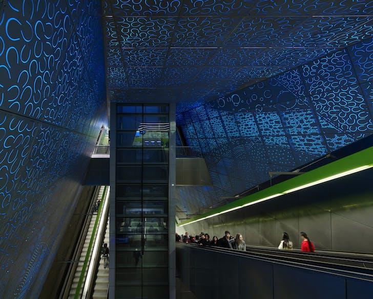 University of Washington Transit Station. Photo: Kevin Scott.