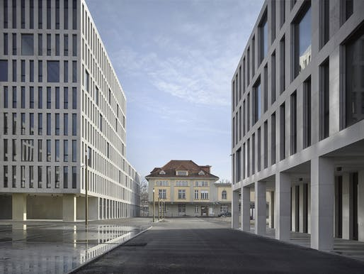 aebi & vincent architekten - New build, renovation and remodelling of the Guisanplatz administrative centre. Bern, Switzerland. Photo: Thomas Telley.