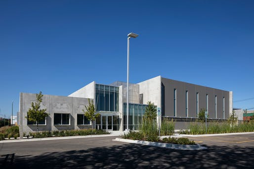 Wolcott School Arts and Athletics Center, Lothan Van Hook DeStefano Architecture. Photo: Barbara Karant Architectural Photography.