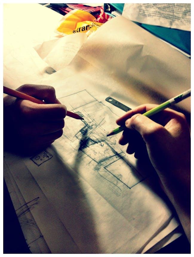 Drawing together: Marcela Trejo & Tamara Yurovsky