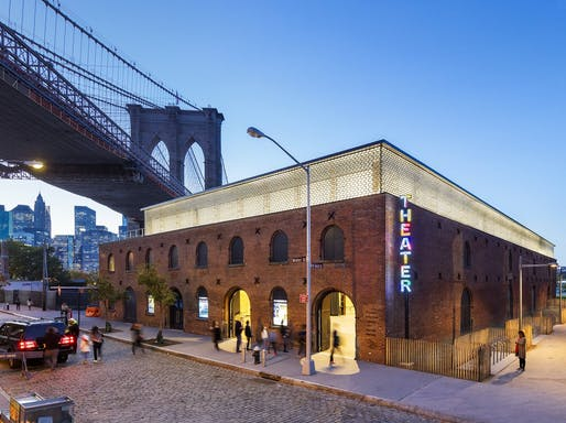 "<a href=""https://archinect.com/Marvel/project/st-ann-s-warehouse"">St. Ann's Warehouse</a> in Brooklyn, NY by <a href=""https://archinect.com/Marvel"">Marvel Architects</a>"