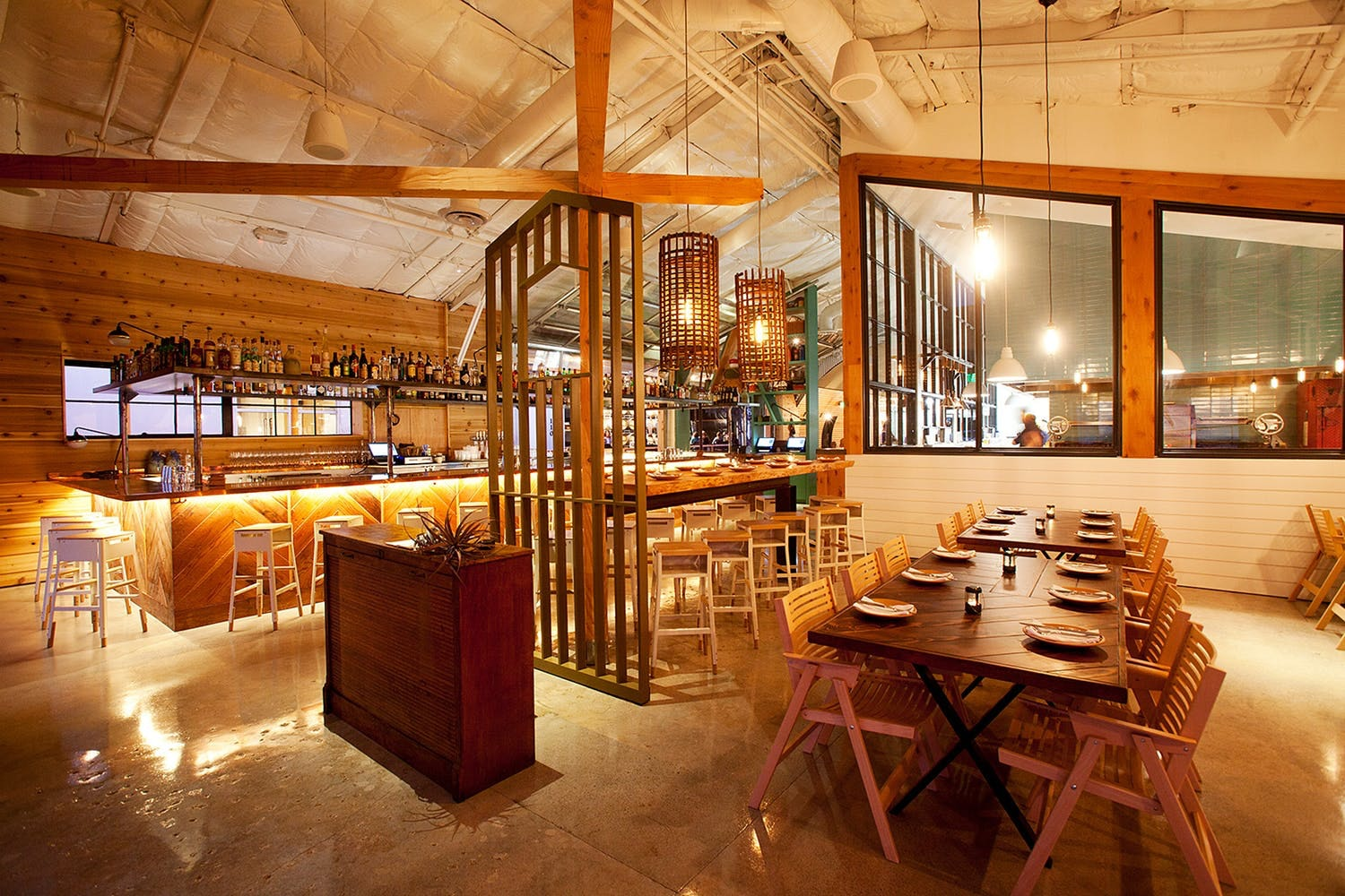 Peoples choice award restaurant category campfire san diego ca designed by aero collective architect bells whistles interior designer