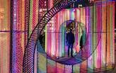 "Hou de Sousa's ""Ziggy"" lights up NYC's Flatiron North Public Plaza for the holidays"