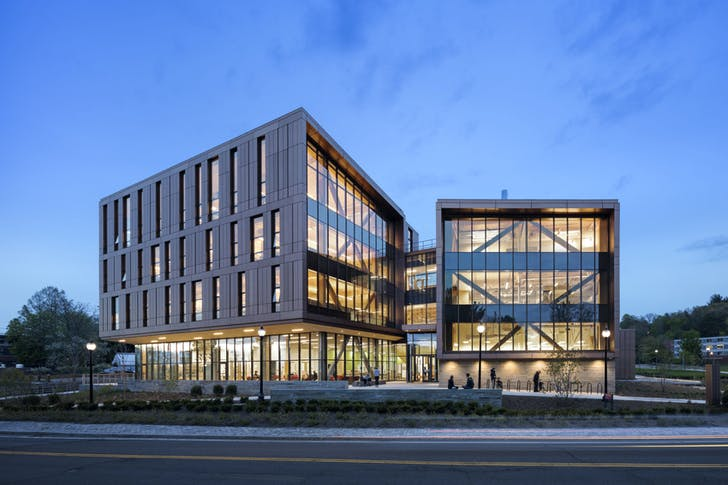 John W. Olver Design Building, University of Massachusetts by Leers Weinzapfel Associates. Image courtesy of Leers Weinzapfel Associates.