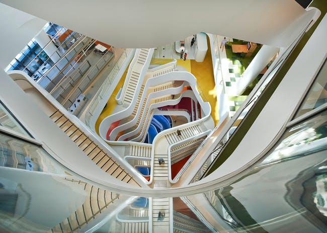 INSIDE World Festival of Interiors - Offices: Medibank Workplace, Australia by HASSELL.
