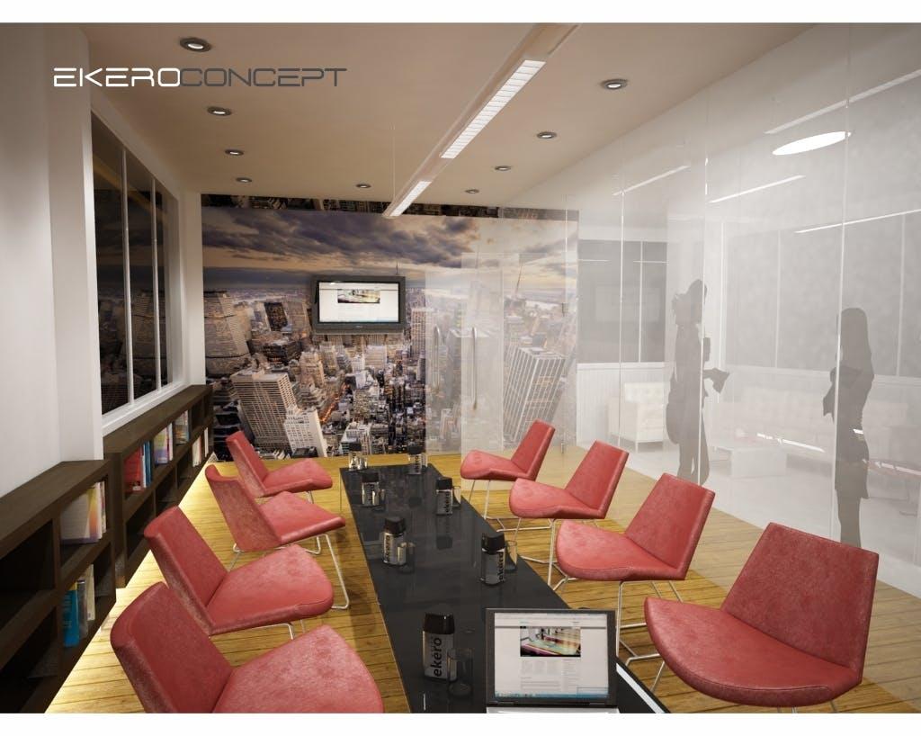 ekero concept showroom robert ilinoiu archinect 2 more images