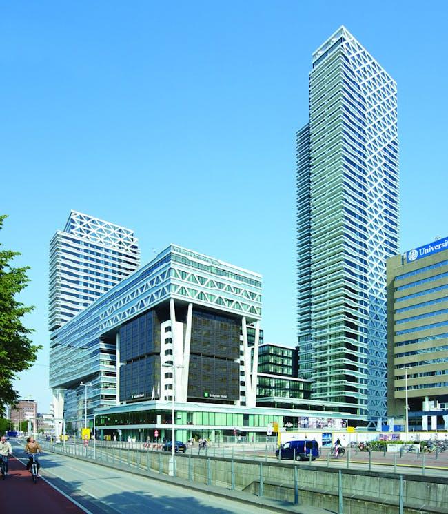 Finalist - Europe: New Babylon Tower, The Hague, The Netherlands by MVSA Architects © MVSA Architects