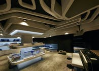Simmons New generation shop_Elite: branding, interior, embellishment, uniform and identity.