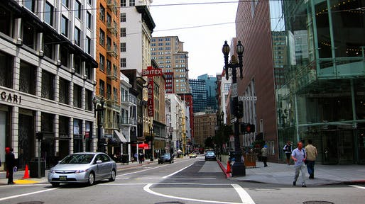 Downtown San Francisco. Photo: Andy Melton/Flickr.