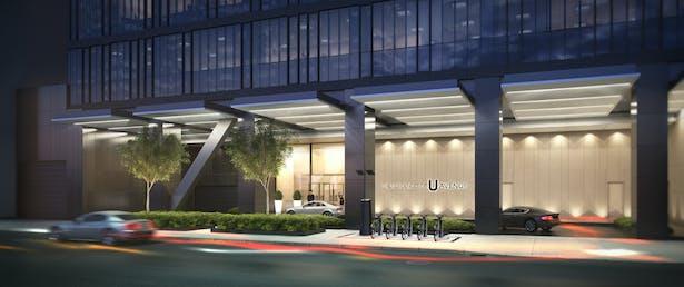 Residences of U Avenue Entrance