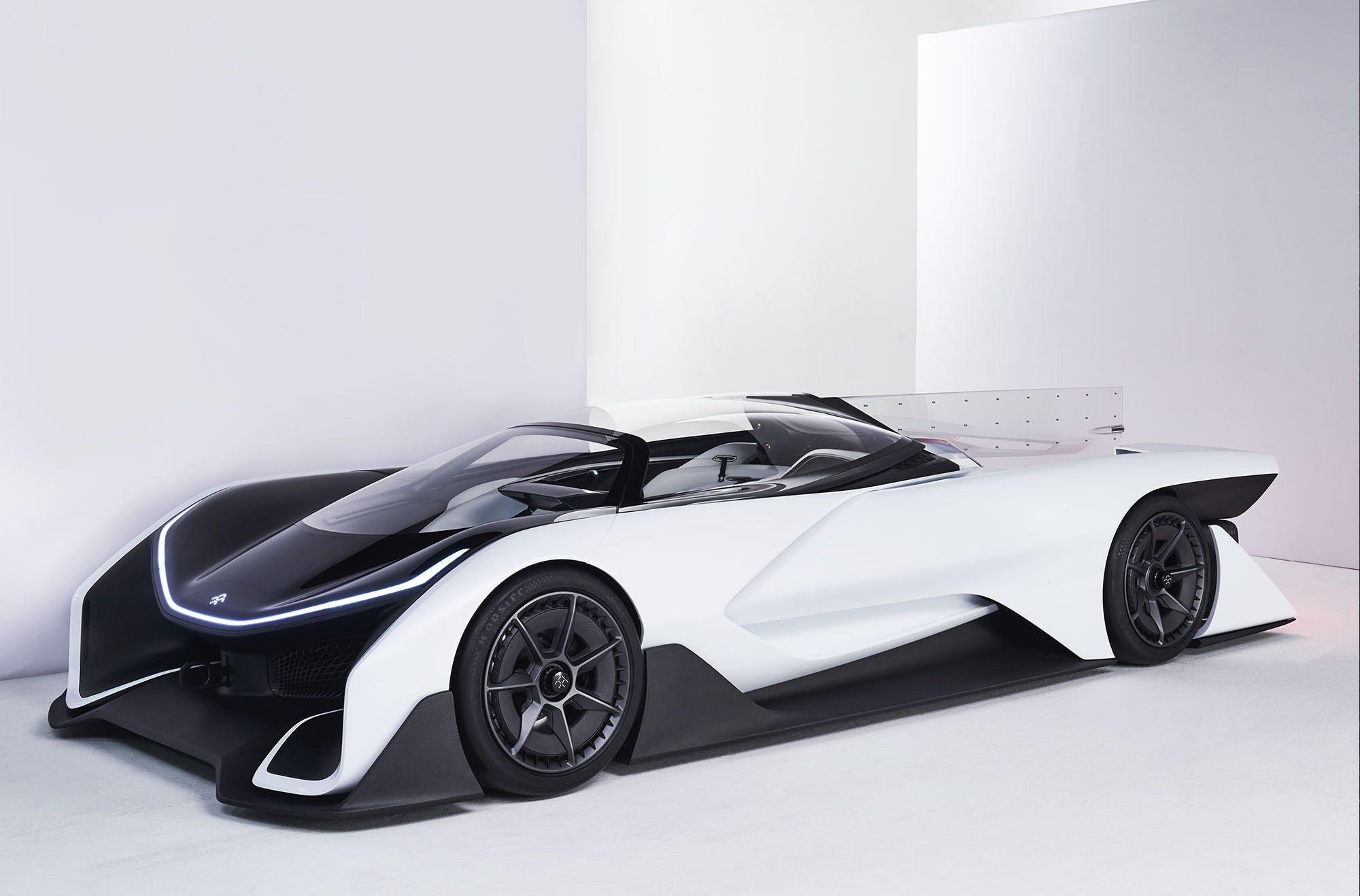 The Ffzero1 Concept Car Credit Faraday Future