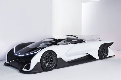 The FFZERO1 concept car. Credit: Faraday Future