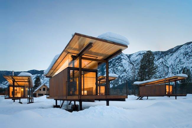 Rolling Huts via Veuxx