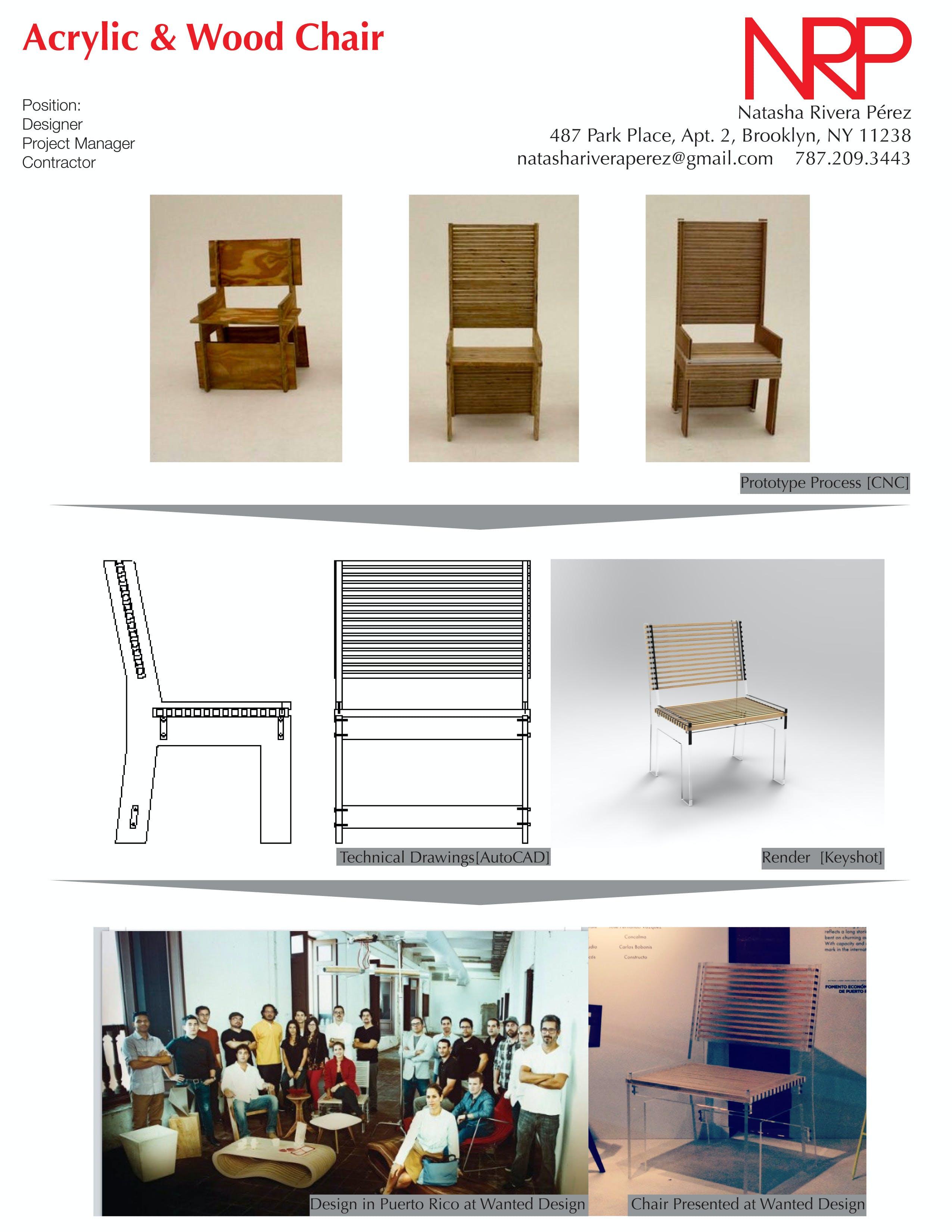 WANTED. Design in Puerto Rico. Chair | Natasha Rivera Pérez | Archinect