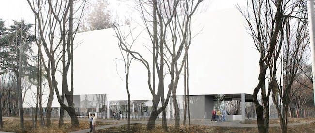 Exterior rendering of the competition-winning design by Gorka Blas (Image: Gorka Blas)