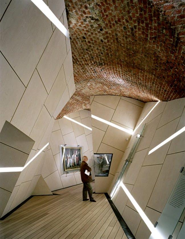 The Danish Jewish Museum, designed by Daniel Libeskind. Photo courtesy of Bertelsen & Scheving.