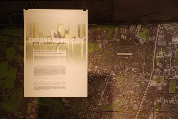 Future Farm City Exhibition: Showcases work of Studio